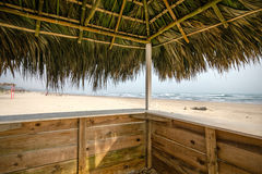 Mexican Beach Palapa Stock Images