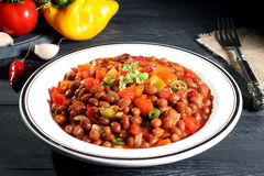 Mexican Bean salad Stock Photos