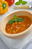 Mexican Bean Soup Royalty Free Stock Photography