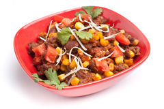 Mexican Beef Chili Stock Photography