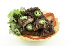 Mexican Beef Short Ribs barbecue Royalty Free Stock Photo