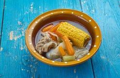 Mexican Beef Soup Stock Photos