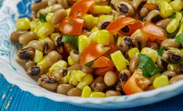 Mexican  Black-Eyed Pea Dip Stock Image