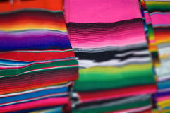 Mexican Blanket. Very touristic gift a Mexican Blanket Royalty Free Stock Photography