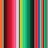 Mexican Blanket Stripes Seamless. Vector Pattern. Background for Cinco de Mayo Party Decor or Mexican Food Restaurant Menu stock illustration