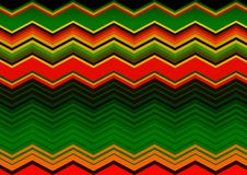 Mexican Blanket Stripes Seamless Vector Pattern. Old Typical vintage colorful woven fabric from central america, zig zag texture. Mexican Blanket Stripes stock illustration