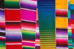 Mexican Blankets. From Mexican Bazaar Stock Photography