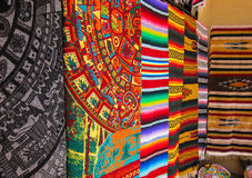 Mexican blankets Royalty Free Stock Images