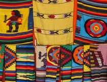 Mexican Blankets Royalty Free Stock Photography