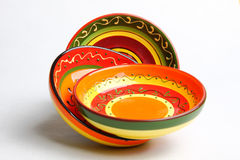 Mexican bowls Stock Image