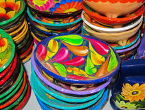 Mexican bowls Royalty Free Stock Image
