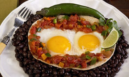 Mexican Breakfast. Royalty Free Stock Photos