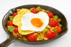 Mexican Breakfast Food Huevos Rancheros Royalty Free Stock Photo