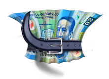 Mexican Budget squeeze Stock Photography