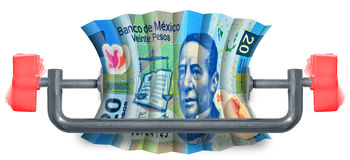 Mexican Budget Royalty Free Stock Photography