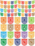 Mexican bunting Royalty Free Stock Images
