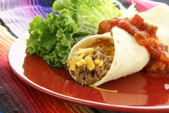 Mexican Burrito Stock Photos