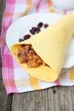 Mexican burrito Stock Image
