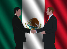 Mexican business men meeting Stock Images