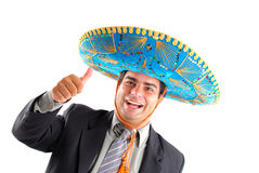 Mexican Businessman Royalty Free Stock Photos