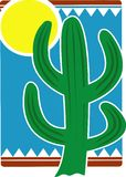 Mexican cactus Royalty Free Stock Photography
