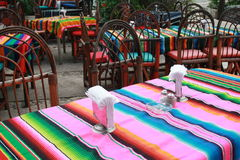 Mexican cafe Stock Photos
