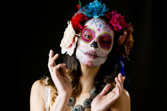 Mexican candy scull Stock Photography