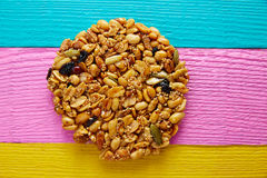 Mexican candy sweet Palanqueta with peanuts. Crunchy and amaranth seeds Royalty Free Stock Image
