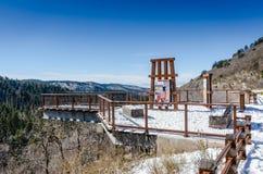 Mexican Canyon Trestle Vista - Lincoln National Forest stock photos