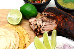 Mexican Carnitas Royalty Free Stock Images
