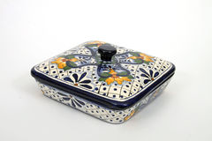 Mexican casserole dish royalty free stock photos