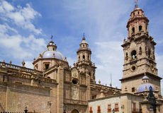 Mexican cathedral Royalty Free Stock Photo