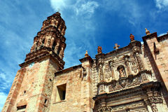 Mexican cathedral Royalty Free Stock Images