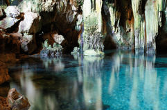 Mexican cave Royalty Free Stock Image