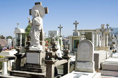 Mexican cemetary. A beautiful cemetery near Puerto Vallarta, Jalisco, Mexico Stock Photography