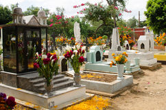 Mexican cemetery Stock Photo