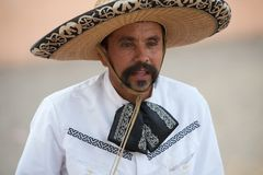 Mexican charros horseman, San Antonio, TX, US Stock Photos