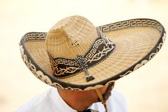 Mexican charros horseman in a sombrero, TX, US Stock Image
