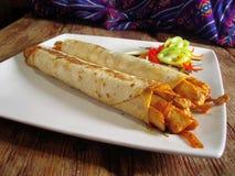 Free Mexican Chicken Burritos Stock Photos - 6411923