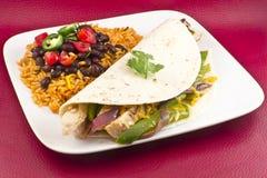 Mexican Chicken Fajita Stock Photos
