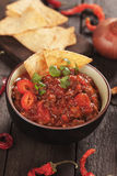 Mexican chili con carne Royalty Free Stock Photos