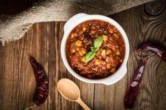 Mexican chili con carne. Stock Image