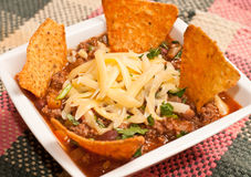 Mexican Chili con carne Royalty Free Stock Photo
