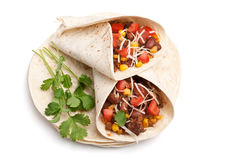 Mexican Chilli Wrap royalty free stock photography