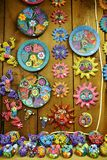 Mexican china and handcraft. Mexican hand made china and handcraft in good quality and different colors and patterns stock image