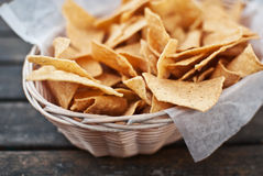 Mexican chips Stock Photo