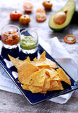 Mexican chips and salsa Stock Photography