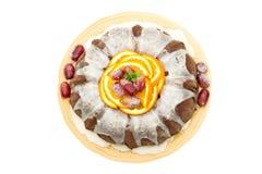 Mexican Chocolate Bundt Cake Stock Photo