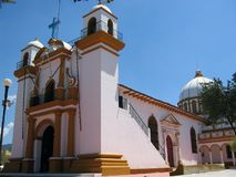 Mexican Church. Little traditional church in Mexico Stock Photos
