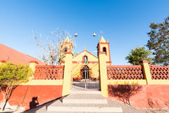 Mexican church Royalty Free Stock Image